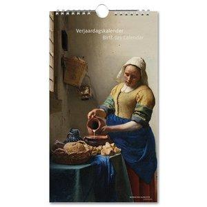Typisch Hollands Verjaardagskalender - Meesterwerken - Rijksmuseum