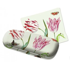 Typisch Hollands Spectacle case with lens cloth - Tulips - Marrel