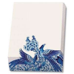 Typisch Hollands Bloknote - Schrijfblok - 9,5 x 13,5 cm - Delfts blauw