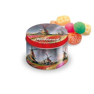 Typisch Hollands Snoepblik Holland - Gevuld met Snoepmix oud Hollands