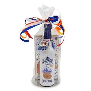van Meers Stroopwafel - wafels en likeur -cadeau