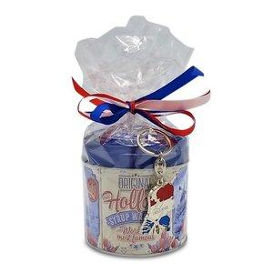 Stroopwafels (Typisch Hollands) Stroopwafel gift-set met Nederlandse sleutelhanger