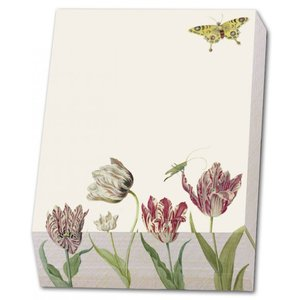 Typisch Hollands Block note - Writing pad - 9.5 x 13.5 cm - Tulips- Marrel