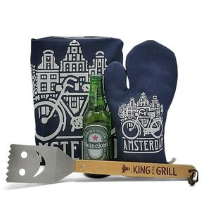 www.typisch-hollands-geschenkpakket.nl BBQ cadeau pakket - Amsterdam - ( King of the Grill)
