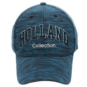 Typisch Hollands Sportieve pet Holland -Borduring (blue melange)