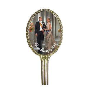 Typisch Hollands Spoon oval Royal family - Royal couple