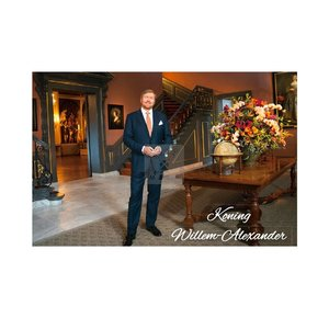 Typisch Hollands Royal family - Photo magnet - King Willem Alexander