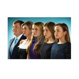 Typisch Hollands Royal family - Photo magnet - Family