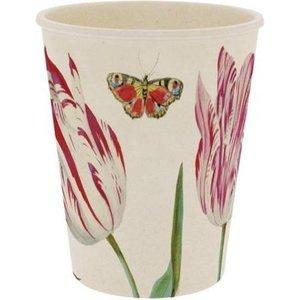 Typisch Hollands Lichtgewicht beker - Tulpen - Jacob Marrel