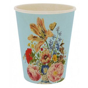 Typisch Hollands Lightweight cup - Tulips and Roses - Merian