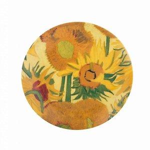 Typisch Hollands Bord Zonnebloemen Van Gogh 20 cm