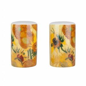 Typisch Hollands Salt and pepper shakers Sunflowers Van Gogh