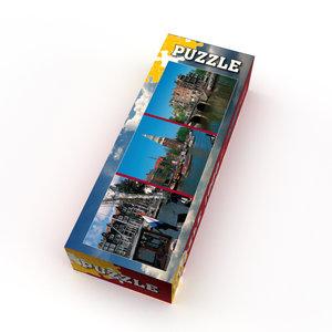 Typisch Hollands Puzzel 1000 stukjes - Amsterdam