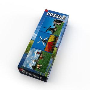Typisch Hollands Puzzel 1000 stukjes - Holland - Koeien, Molens en Tulpen
