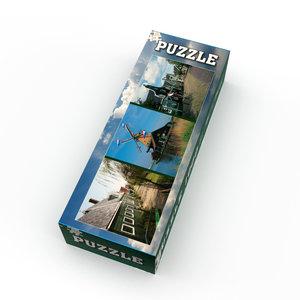 Typisch Hollands Puzzel 1000 stukjes - de Zaanse Schans