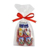 Typisch Hollands Chocolade-sticks in Houten klompjes (Rood)