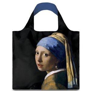 Typisch Hollands Opvouwbare tas - Vouwtas -  Vermeer - Meisje met de parel