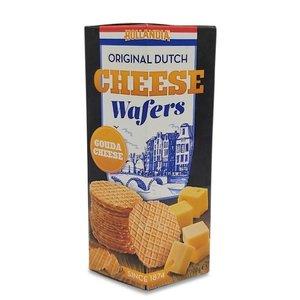 Typisch Hollands Gouda cheese wafers.