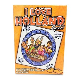 Typisch Hollands Family game - I Love Holland