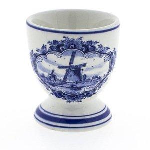 Heinen Delftware Delfts blauw eierdopje - Molen