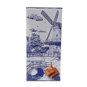 Typisch Hollands Chocolate tablet - Delft blue - Bridge at Mill