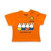 Nijntje (c) Baby T-Shirt Miffy - Go Holland -Hup