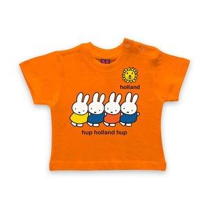 Nijntje (c) Baby T-Shirt Nijntje - Hup Holland -Hup