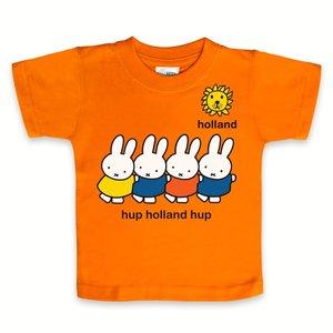 Nijntje (c) T-Shirt Miffy - Go Holland -Hup