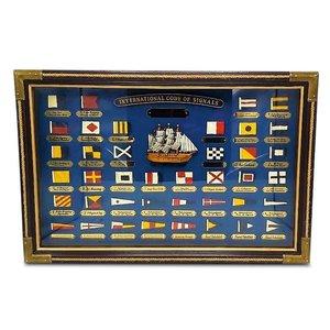 Typisch Hollands Nautical List - International code flags