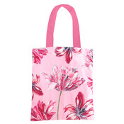Typisch Hollands Cotton Tote Bag -Pink (Tulips - Merian)