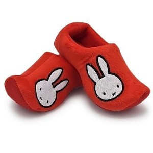 Typisch Hollands Clog slippers Miffy Red