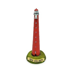 Typisch Hollands Lighthouse - Den Helder 13cm