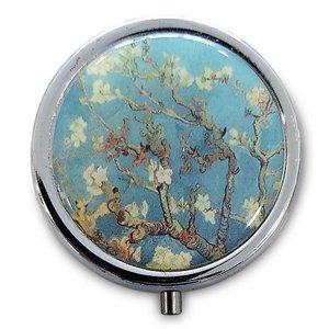 Typisch Hollands Pillendoos  - van Gogh - Amandelbloesem