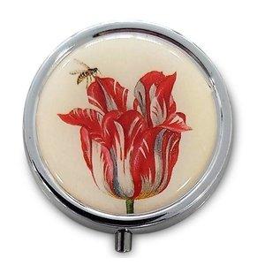 Typisch Hollands Pillendoos  - Marrel - Tulp met insect