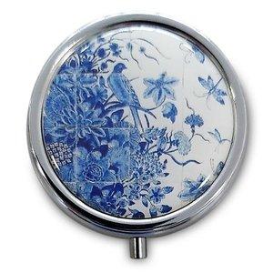 Typisch Hollands Pillendoos  Delfts blauw