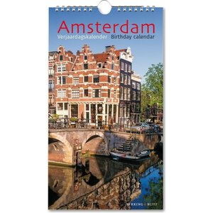 Typisch Hollands Amsterdam Verjaardagskalender