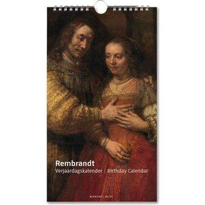 Typisch Hollands Birthday calendar Rembrandt