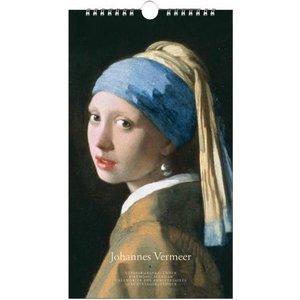 Typisch Hollands Birthday calendar Johannes Vermeer