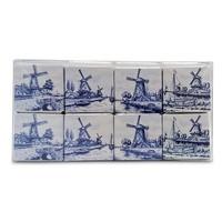 Typisch Hollands Chocolade-Tegeltjes - Delfts Blauw