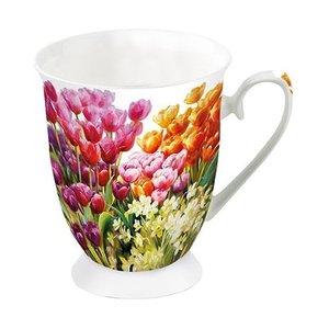 Typisch Hollands Mug - Porcelain - Dutch birds (tits and sparrows) - Copy
