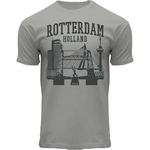 Typisch Hollands T-Shirt Rotterdam - Holland - Zinc