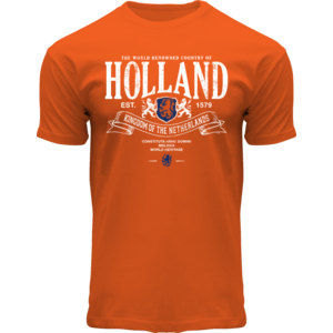 Holland fashion T-Shirt Holland - Oranje - Holland fanshirt