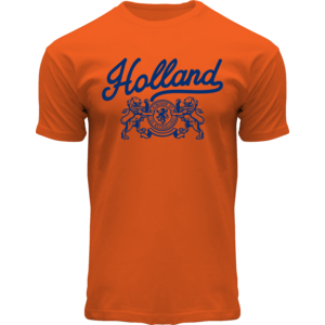 Holland fashion Oranje T-Shirt Holland - (leeuwen)