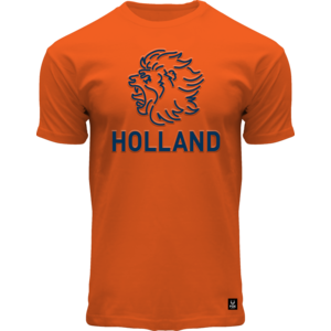 Holland fashion T-Shirt Holland - (leeuw) - Oranje
