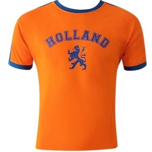 Holland fashion Oranje vintage T-Shirt Holland - (leeuw)