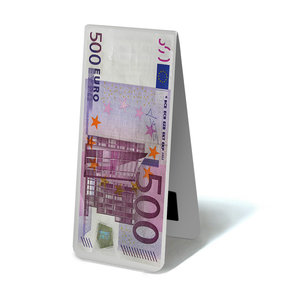 Typisch Hollands Magnetische Boekenlegger  - Eurobiljet 500