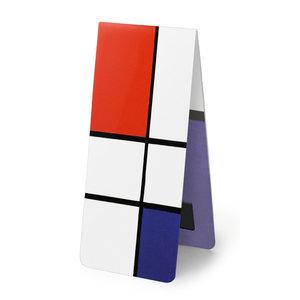 Typisch Hollands Magnetische Boekenlegger  - Mondriaan