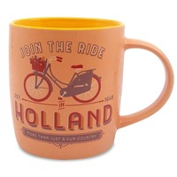 Typisch Hollands Large mug in gift box - Holland - Pastel - Bicycle