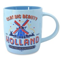 Typisch Hollands Large mug in gift box - Holland - Pastel - Windmill