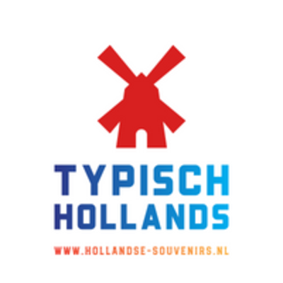 Typisch Hollands Large mug in gift box - Amsterdam - Pastel - Bicycle and houses